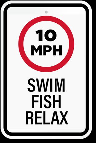 10 MPH Speed Limit