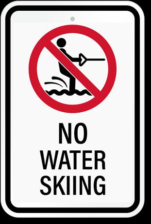 No Water Skiing