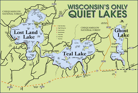 Wisconsin's Only Quiet Lakes